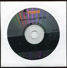 Roxio Creator DE 10.3 CD/DVD Burning Software