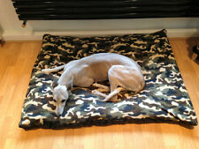 KosiPet® Small Budget Economy Fibre Cushion Camo Fleece Dog Bed,Beds