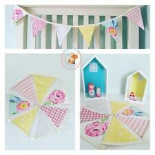 Bunting, Fabric Letters, Personalised, Nursery, Wall Art, Boy, Girl, Unisex