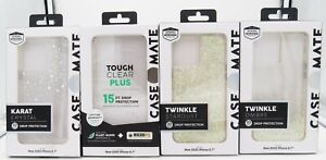 """Case-Mate Twinkle / Karat / Soap and Clear Case for the iPhone 12 Pro Max 6.7"""""""