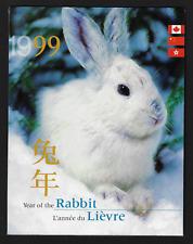 Hong Kong / China / Canada - Thematic Collections -1999, Rabbit Year #85 MNH