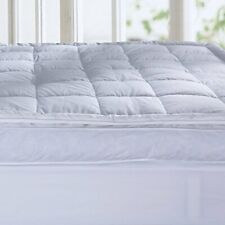 Puredown® Premium White Goose Down and Feather Mattress Topper, Feather Bed
