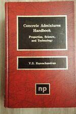 Concrete Admixtures Handbook - 1st - First Edition - Ramachandran - Hardcover