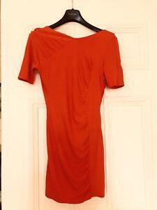 Jasmine De Milo Coral Red Dress Size 10