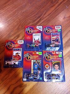 1998 Lot of 5 Winner's Circle 1:64 Scale Jeff Gordon NASCAR Die Cast New