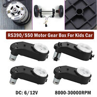 RS390/550 Electric Motor Gear Box For Kids Ride On Car Bike Toy Spare Parts