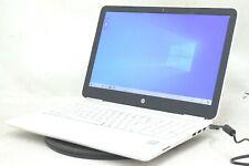HP 15-AU171 Core i3-7100 @ 2.4GHz 8GB 1TB HDD Windows 10 Laptop in white