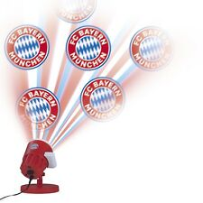 FC BAYERN MÜNCHEN LED-Motivstrahler Projektor FCB-Logo Außen Outdoor Strahler