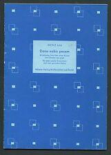 Vocal Sheet Music, Heinz Lau, Dona Nobis Pacem, M 64.470, 1954