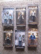 SIX Twilight Movie Action FIgures. Edward, Alice, Bella, Jasper, Edward & Bella