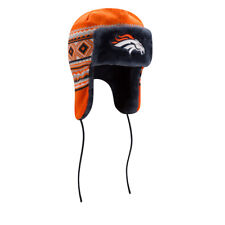 Men's New Era Denver Broncos NFL 2016 Team Trim Trapper Hat