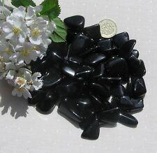 12 Stunning Black Tourmaline (Schorl) Crystal Tumblestones