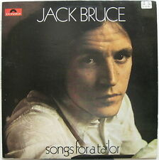 JACK BRUCE Songs For A Tailor 1969 UK ORG LP PETE BROWN Pappalardi SPEDDING