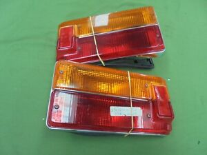 Fiat 125 Special Rubber Dinghy Pair Of Lights Rear Full New
