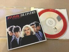 BLONDIE     -  ATOMIC HITS   -   ORIGINAL UK   CD LP -  AUTHENTIC -  EX