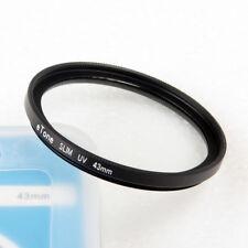 eTone 43mm Ultra Slim UV Filter For Lens Protection Absorbs The Ultraviolet