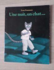 Livre un nuit , un chat Yvan Pommaux lutin poche