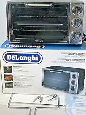 DeLonghi Electric 6-Slice Convection Toaster Oven Grill Bake Rotisserie RO2058