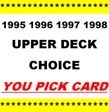 1995 1996 1997 1998 ~ Upper Deck Collector's Choice / Preview ~ YOU PICK CARD