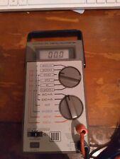 New listing Vintage Micronta Digital Multimeter L@k