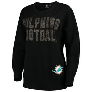 Miami Dolphins Women's NFL Superstar 4Her Pullover L