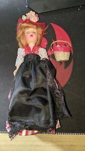 Vintage Souvenier Doll FRANCE American Museum Immigration Gift Center In Box see