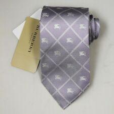 "NEW Burberry TARO Plaids Mans 100% Silk Tie Authentic Italy Made 3.5"" 0350138"