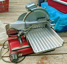 Vintage U.S. Slicing Machine Company Model K Porcelain Commercial Deli Slicer