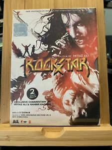 ROCKSTAR - BRAND NEW BOLLYWOOD EROS 2 DVDs COLLECTORS SPECIAL EDITION SET