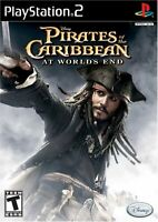 Pirates Of The Caribbean: At World's End For PlayStation 2 PS2 Disney 9E