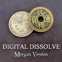 Magic Coin Tricks Visual Change Magician Illusions Close Up Vanish Gimmick Props