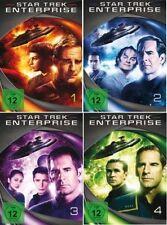 27 DVDs * STAR TREK - ENTERPRISE - SEASON / STAFFEL 1 - 4 Komplett MB # NEU OVP+