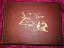 Rare: Souvenir of Egypt Monuments, Temples, Mosques And Scenes. 1898 1st Edition