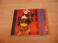 CD Samantha Fox - I wanna have some fun - 1988 incl. Love house & I only wanna b