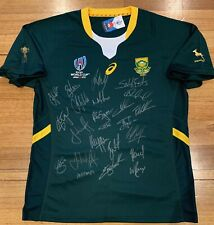 South Africa Springboks 2019 Signed Rugby World Cup Jersey - PHOTO PROOF!