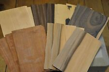 """Wood Veneer for Crafts - 11 sheets each 5 kind (55+, 5""""x 8"""" sheets) IC5"""