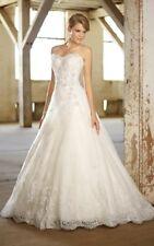 Vestido boda Essense Of Australia D1369 tamaño 10 Marfil
