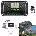 PWM LCD Solar Panel Battery Controller Charge Regulator 12V 24V Auto With USB MQ