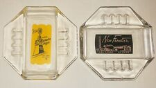 Vtg Collectible El Rancho & New Frontier Hotel Las Vegas Safex Ashtrays-Estate