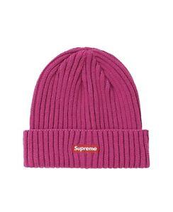 Supreme Overdyed Beanie Magenta Pink SS20