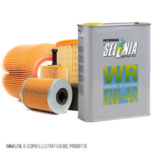 Kit tagliando auto 4 filtri e 4 litri olio motore Selenia WR 5W40 (KF0019/fo)