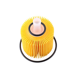 FITS FOR Toyota Oil Filter 04152-yzza1 04152YZZA1 W/ Drain Plug & Gaskets Yellow