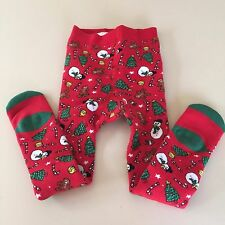 H&M ADORABLE Girl's-Boy's Red TIGHTS  Size 1-2 years, NEW WITH TAGS!! WOW!!