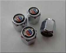 BMW CHROME DUST / VALVE CAPS SET OF 4 WITH LOGO