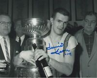 DAVID DAVE KEON SIGNED AUTOGRAPH TORONTO MAPLE LEAFS 1967 CUP 8X10  PHOTO PROOF