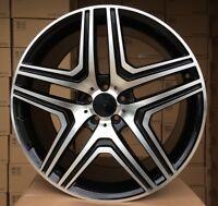"4x 21 Zoll Felgen für Mercedes-Benz ML GL GLS GLA ET46 10J 5x112 Alufelgen 21"""