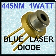 Blue diode laser Blue Beam 1 W 1000 mW diode laser bleu 445 Presque comme neuf TO-18 5.6 mm > Mas