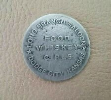 BROTHEL TOKEN (LONG BRANCH SALOON) ( TOKENS OF THE OLD WEST)