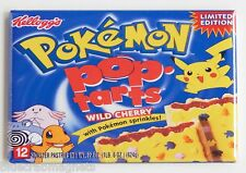 Pokemon Pop Tarts FRIDGE MAGNET (2 x 3 inches) box wild cherry pikachu