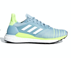 ADIDAS D97427 SOLAR GLIDE W Wmn`s (M) Grey/White/Yellow Mesh Athletic Shoes